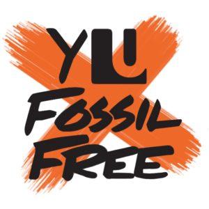 YorkU Fossil Free Logo